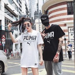 彪马puma短袖T恤男2018夏季新款时尚简约休闲圆领跑步上衣运动T恤