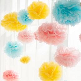 中号纸花球生日装饰派对甜品台DIY婚礼结婚新房拉花店铺装饰品