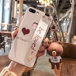 爱心vivox20手机壳女款vivox9/x7硅胶vivox9s plus韩国卡通x20套