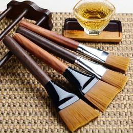 花梨黑檀木养壶笔扫茶盘清洁水洗杯笔茶刷子茶笔功夫茶具茶道配件