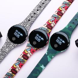 新概念手表创意黑科技电子表男女学生智能运动多功能led震动闹钟