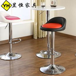 吧台椅升降椅简约高脚凳旋转酒吧桌椅子家用时尚吧凳吧椅收银凳子