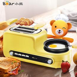 烤面包机家用2片早餐多士炉Bear/小熊 DSL-A02Z1土司机全自动吐司