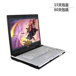 二手笔记本电脑富士通i5宽屏双核游戏本手提上网本超级本顺丰包邮