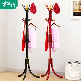 松野欧式衣帽架豪华落地衣架挂衣服架子卧室创意多功能客厅家用