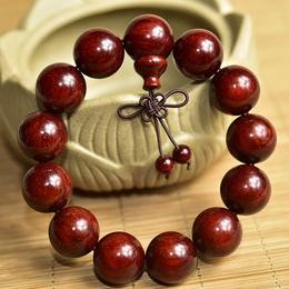 印度小叶紫檀手串2.0男女108颗老料爆满金星同料顺纹金星佛珠项链