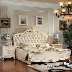 约翰华兰 欧式家具 欧式床 婚床 公主床 实木床 双人床1.8米特价