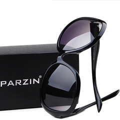 女2013新款帕森正品眼镜偏光太阳镜 女士时尚复古大框墨镜