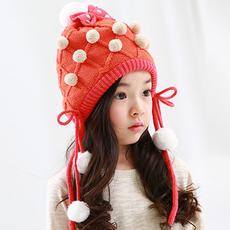 保暖毛线帽,超萌可爱