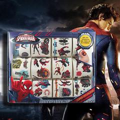 12张装 纹身贴防水 正义联盟蝙蝠侠 礼盒装纹身