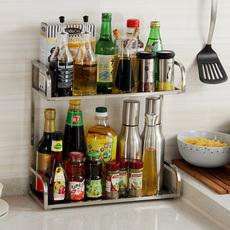 置物架 让厨房立刻变整洁