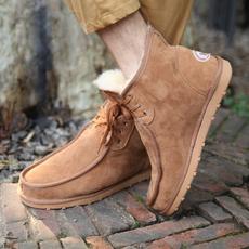 雪地靴让潮男温暖过冬日
