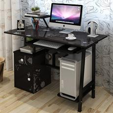 包邮1.2米高级彩绘台式电脑桌简易电脑桌台式桌家用办公桌泉书桌