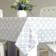 高档加厚PVC塑料桌布餐桌布防水防油耐用 茶几垫台布软质桌布桌旗