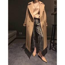 新年战袍:M@xM超重工 年度最难做的风衣款大衣 超长拱针珠边工艺