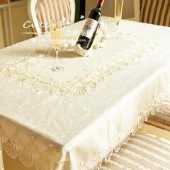 桌布 布艺 欧式 镂空 纯色缇花桌布/茶几桌布/小方巾/圆桌布台布