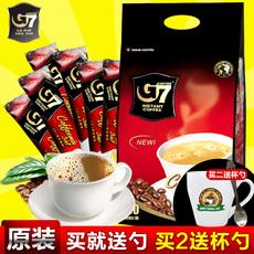 越南进口中原g7特浓咖啡粉 三合一浓香型速溶咖啡100条1600g正品