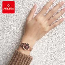 手表女简约腕表 潮流防水石英表钢带款 聚利时女士手表学生韩版 时尚