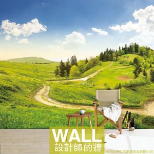 山水自然草原风景大型3d立体壁画 span class=h>墙纸 /span>定制背景
