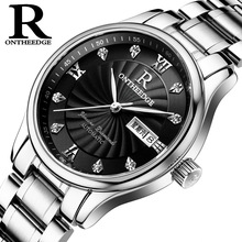 Ruizhiyuan Genuine Ultra-thin Waterproof Steel Strip Quartz Men's Watch Men's Watch Students'Men's Watch