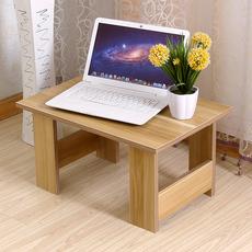 现代笔记本电脑桌简易矮桌床上用书桌小餐桌榻榻米茶几飘窗小木桌