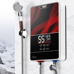 翰诺威即热式电<span class=H>热水器</span>电家用小型卫生间快速热淋浴洗澡机智能恒温