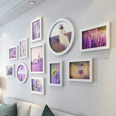 天天特价背景墙 照片墙装饰墙壁创意组合墙上相框墙免打孔相片墙