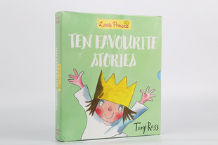 A Little Princess Ten Favorite Stories小公主10册故事 可点读kd