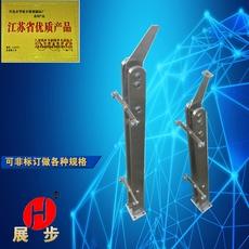 不锈钢扁管夹玻璃工程护栏阳台楼梯扶手立柱