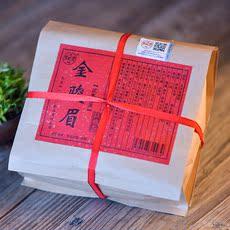 拍下16.8元 桐木关特级金骏眉红茶茶叶春茶正山小种散装250g送礼