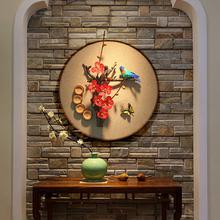 原创家居客厅壁饰背景墙挂件立体墙面墙上复古新中式玄关挂件墙饰