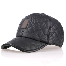New Design Men's Fashion Protective Ear Baseball Caps Winter