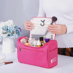 便携化妆包大容量随身韩国简约旅行收纳袋手提箱洗漱小号多功能盒