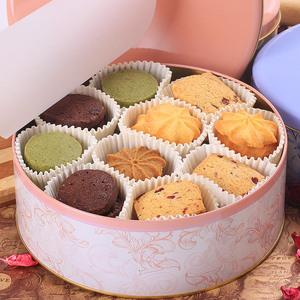 登京曲奇饼干580g礼盒装 6口味纯手工曲奇进口原料休闲零食品饼干