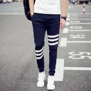男Gym Pants Men Track Sports Joggers SweatPants Casual Pants