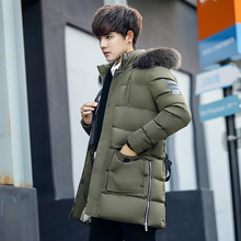New men winter warmth jacket student down jacket youth coats