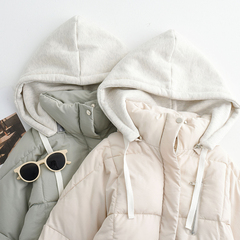 连帽面包服短款加厚棉衣外套女装冬季2018新款东大门棉袄学生棉服