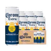 6听 Corona 科罗娜啤酒墨西哥进口355ml