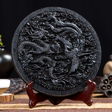 天天特价【龙团凤饼】乌龙茶武夷岩茶大红袍茶饼500g珍藏礼品包邮