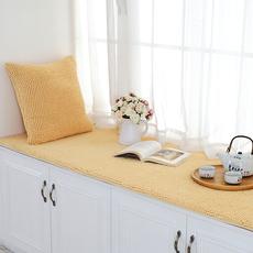 毛绒雪尼尔防滑飘窗垫定做榻榻米垫阳台垫飘窗毯子窗台垫海绵加厚