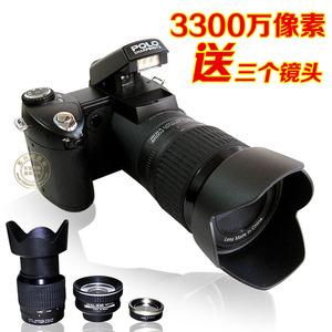 正品高清长焦<span class=H>数码</span>照相机家用旅游摄像类单反相机录像特价包邮
