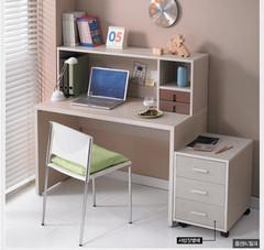 特价促销书桌书柜 最新推出,单人书桌+书架 电脑桌 写字台