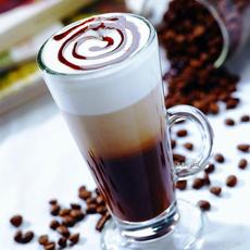 欧式拿铁咖啡杯玻璃透明大口爱尔兰咖啡杯卡布奇诺泡沫咖啡杯速溶