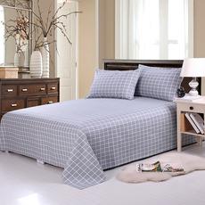 全棉加厚老粗布床单单件纯棉被单单双人学生炕单1.2 1.5 1.8 2.0