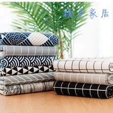 棉麻桌布布艺亚麻风格田园餐桌布小清新长方形简约现代茶几盖布