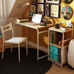 【预售】包邮潮土简约多功能书桌书架书柜休闲椅子组合特价电脑桌