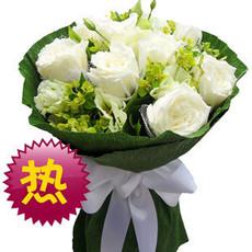 广州鲜花速递杭州红玫瑰花束北京鲜花店上海同城送花市区2小时到