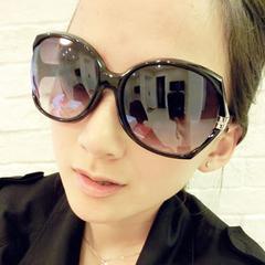 Plushy专柜正品欧美复古墨镜太阳镜女防紫外线金属镂空款近视眼镜