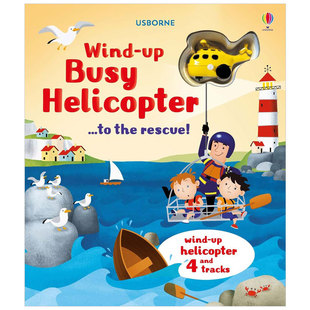 Wind-Up Busy Helicopter to the Rescue 繁忙的直升机:营救
