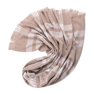 Inner Mongolia scarf pure wool plaid shawl ladies thick styl